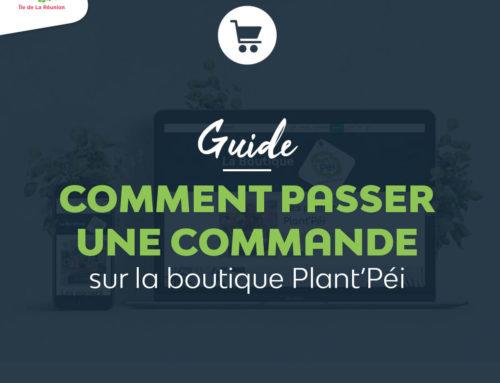 Passer une commande sur la boutique Plant'Péi