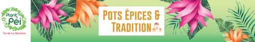 Pots épices et tradition